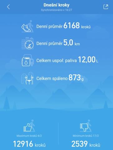 Aplikace Mi Fit 23