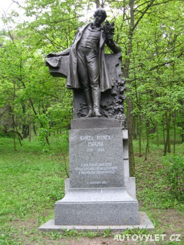 Karel Hynek Mácha socha - Litoměřice