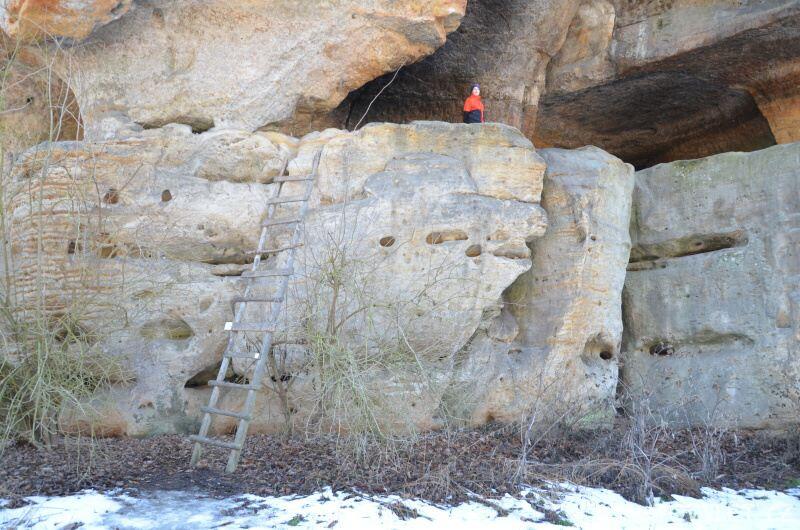 Klemperka skalní jeskyně 4