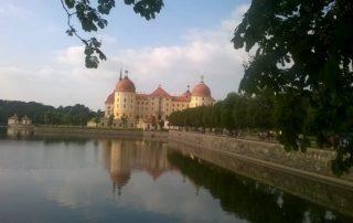 Moritzburg zámek - Drážďany Německo