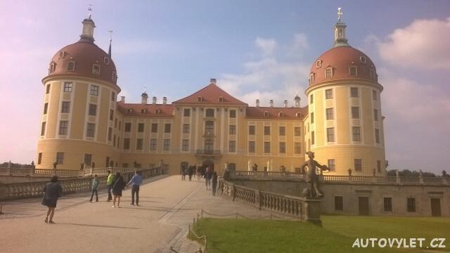Moritzburg zámek - Drážďany Německo 6