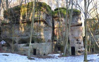 Rozbořenka jeskyně Kokořínsko