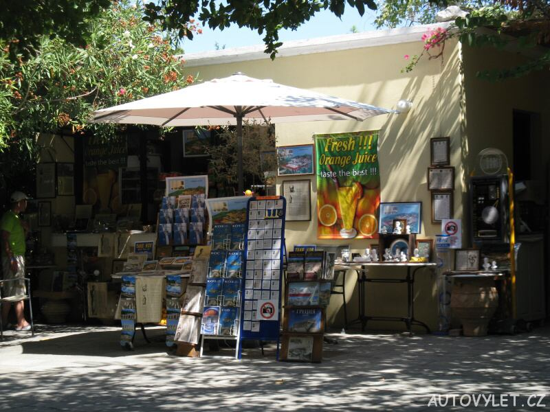 Asklepion prodejna suvenýrů - Řecko Kos