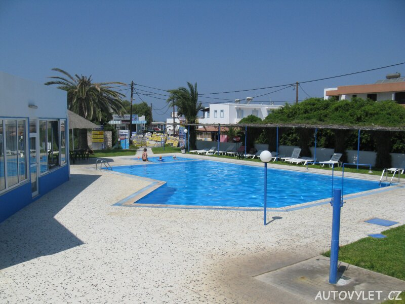 Bazén - hotel Blue Jay - Řecko Kos