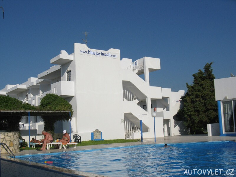 Blue Jay hotel - Marmari Řecko Kos