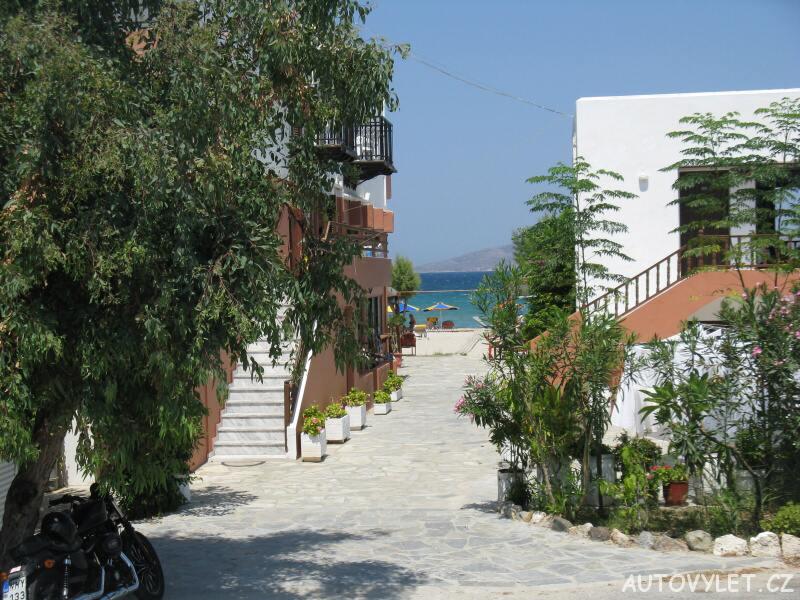 Cesta k pláži - Marmari Řecko Kos