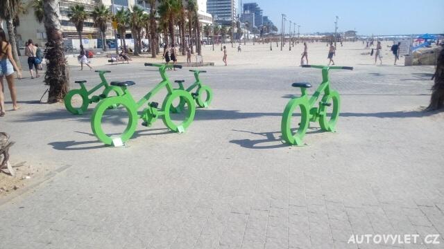 Cyklostezky - Tel Aviv - Izrael