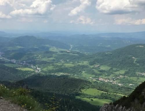 Jánošíkove Diery – soustava soutěsek v Malé Fatře na Slovensku