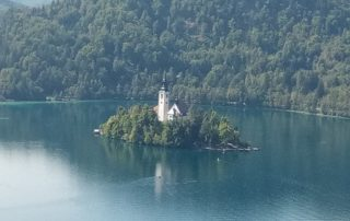 Jezero Bled Slovinsko