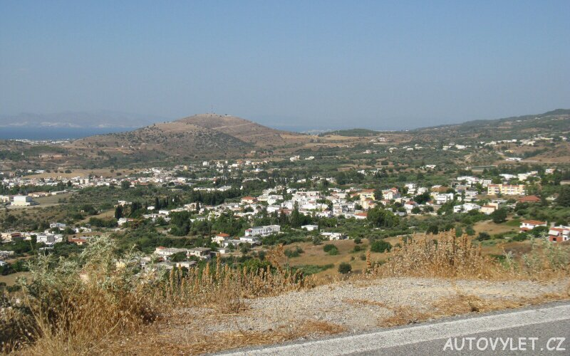 Kos Řecko autem 3
