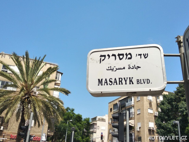 Masarykovo náměstí - Tel Aviv - Izrael
