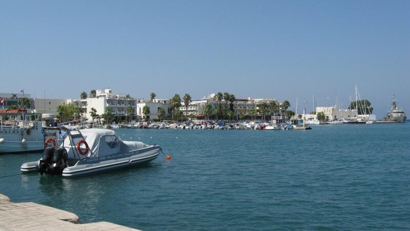 Město Kos Řecko