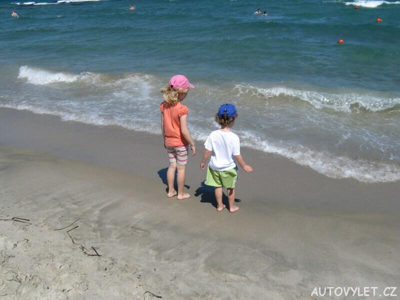 Moře Marmari Řecko Kos