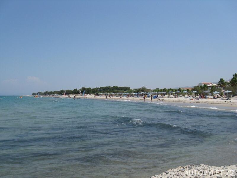Moře v Marmari na Kosu v Řecku
