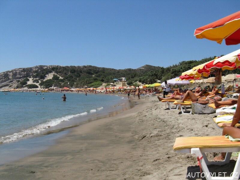 Paradise pláž - Řecko Kos