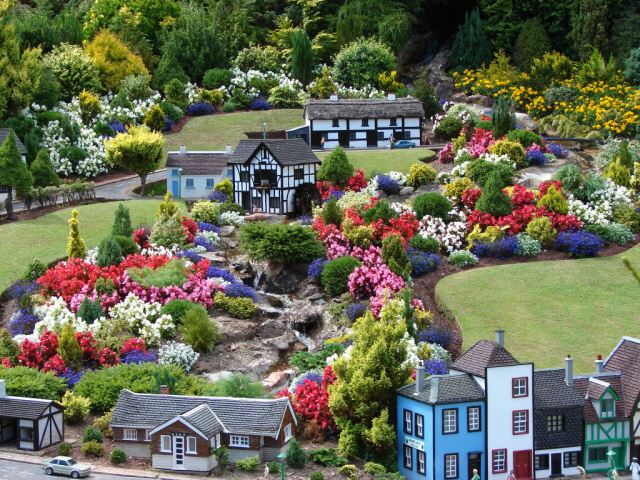 Park Babbacombe model Village - Anglie