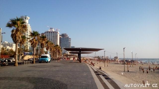 Plážová promenáda - Tel Aviv - Izrael
