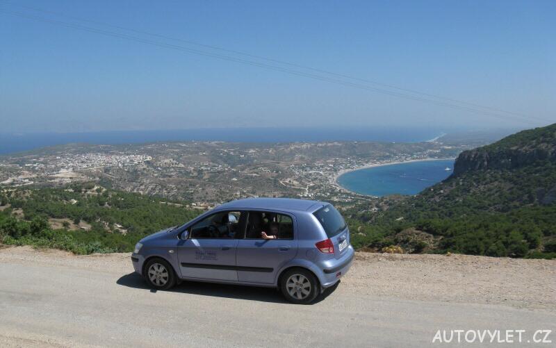 Řecko Kos autem