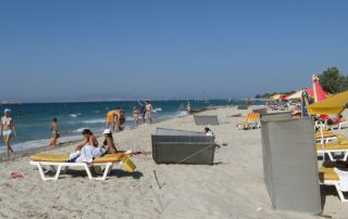 Řecko Kos letovisko Marmari pláž