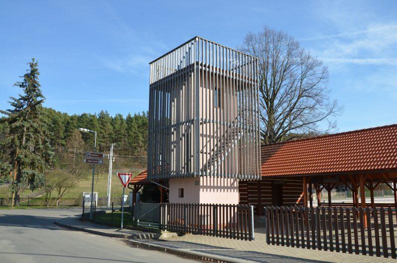 Rozhledna Dneboh - vyhlídková věž