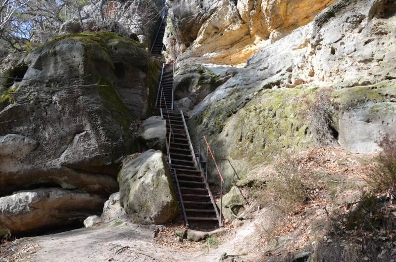 Stará Hrada - skalní hrad - Příhrazské skály