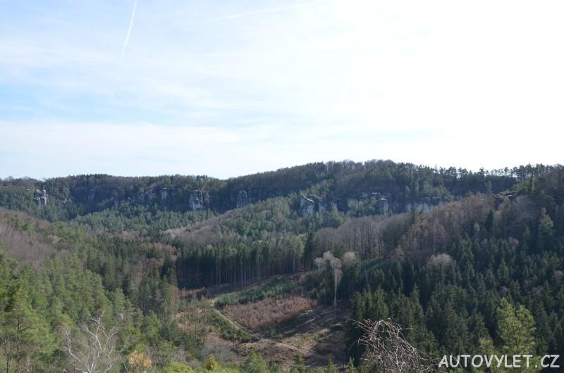 Stará Hrada - skalní hrad - Příhrazské skály 3