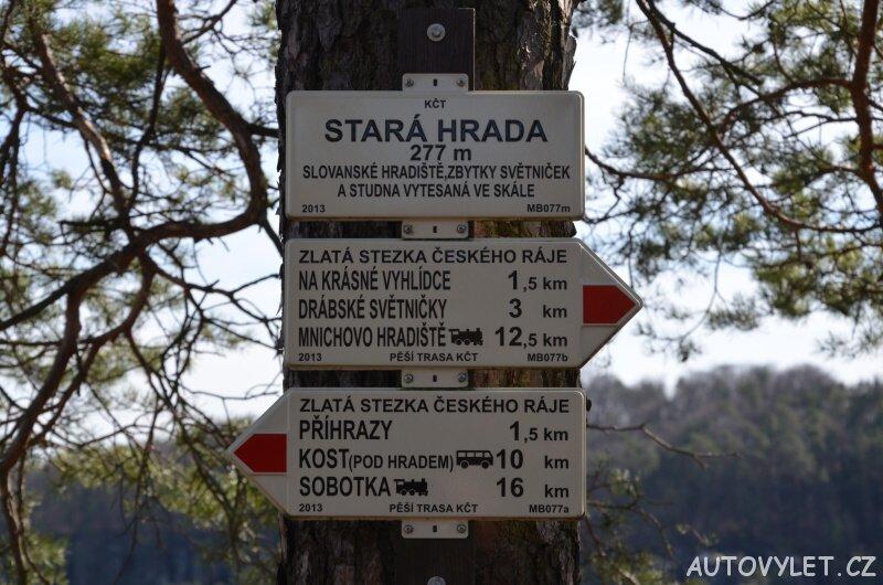 Stará Hrada - skalní hrad - Příhrazské skály 5