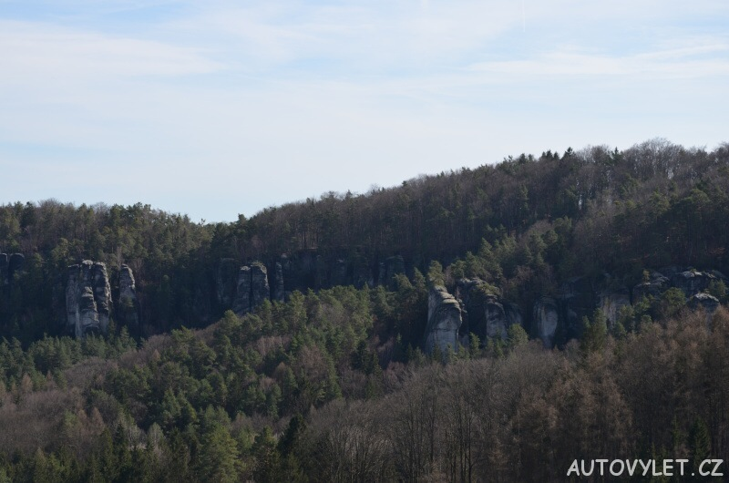 Stará Hrada - skalní hrad - Příhrazské skály 7