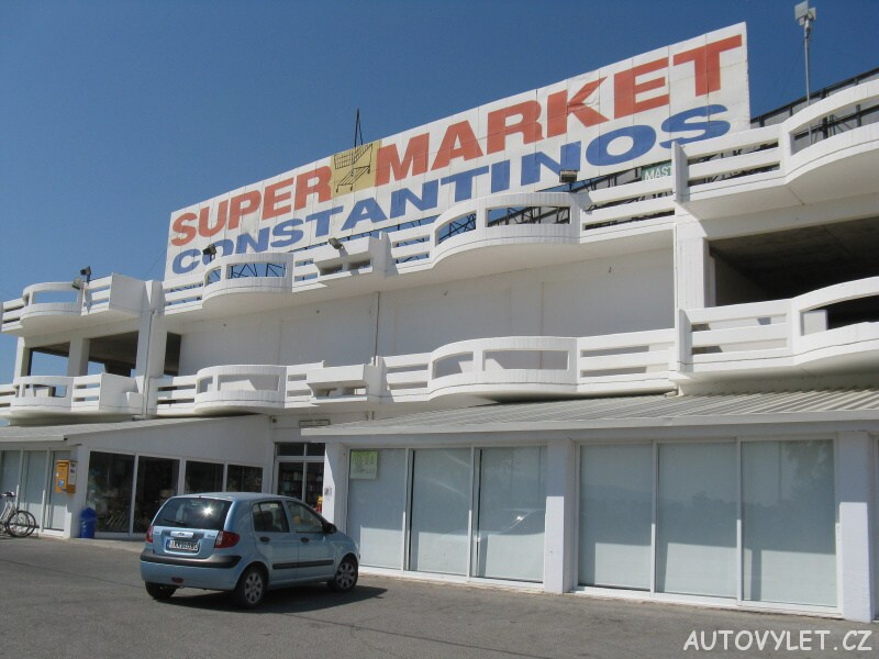 Supermarket Konstantinos - Marmari Řecko Kos