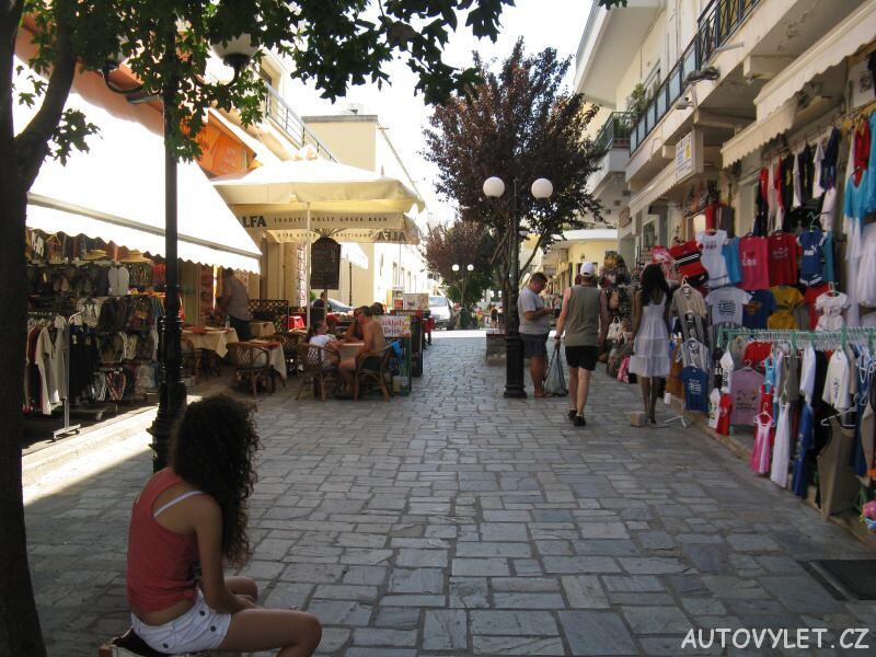 Ulice - město Kos v Řecku
