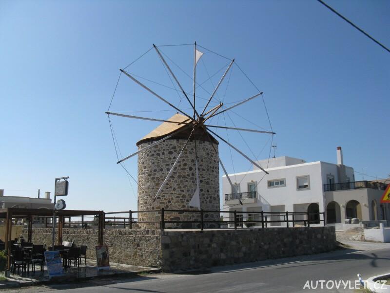 Větrný mlýn - Antimachia Kos Řecko