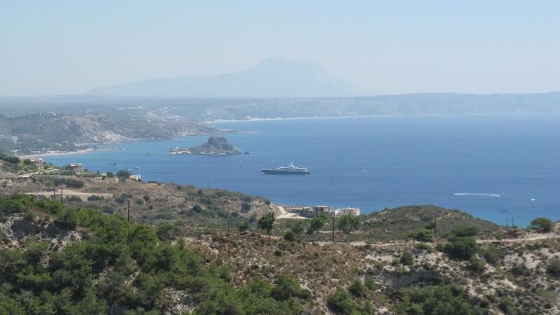 Výlet kolem ostrova Kos v Řecku