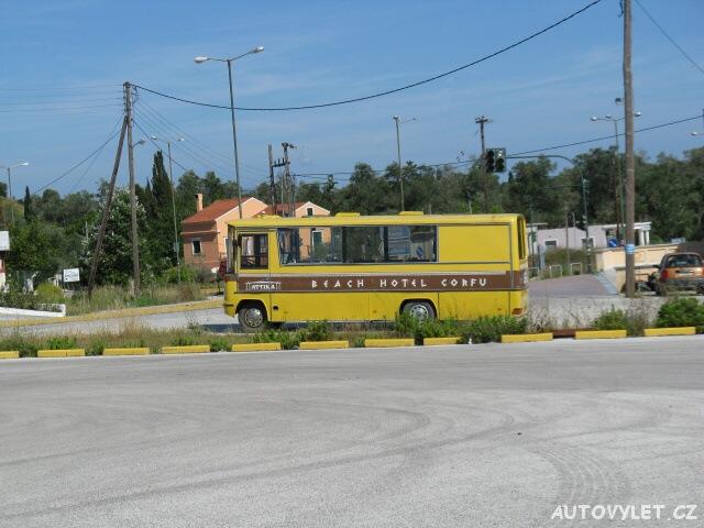 Autobus - Řecko Korfu