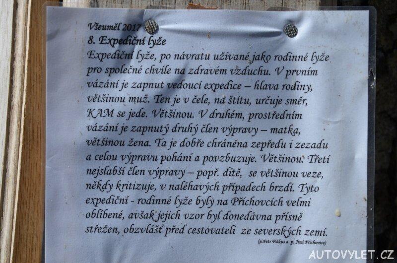 Expediční lyže - Cimrmanova rolnická expozice Příchovice 2