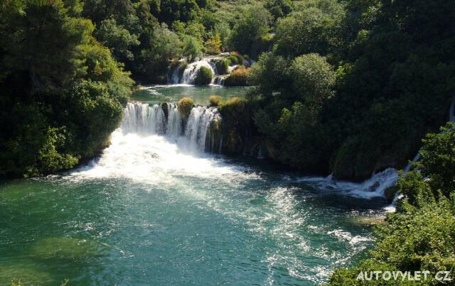 Krka národní park Chorvatsko
