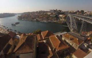 Město Porto Portugalsko