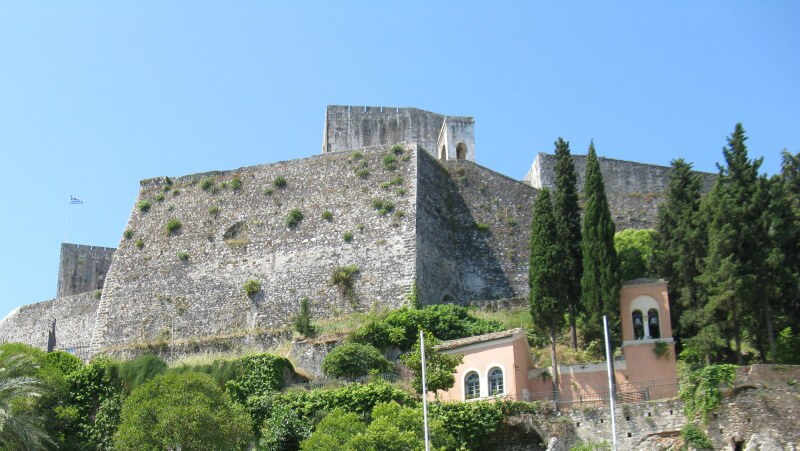 Pevnost - Kerkyra Řecko Korfu