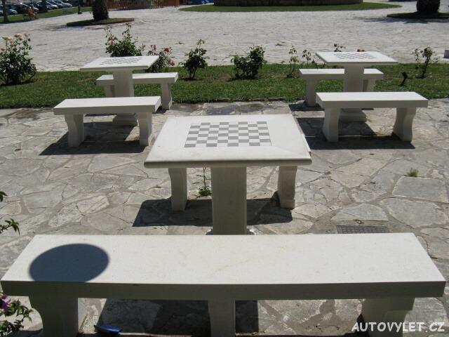 Šachy - Kerkyra Řecko Korfu
