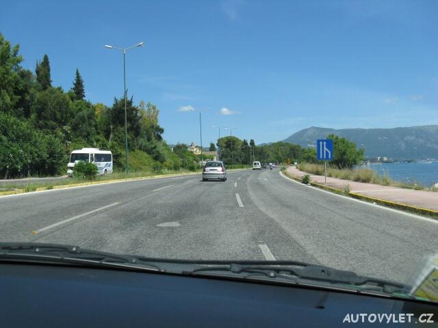 Silnice - Řecko Korfu