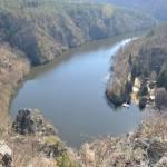 Smetanova vyhlídka u Třebsína