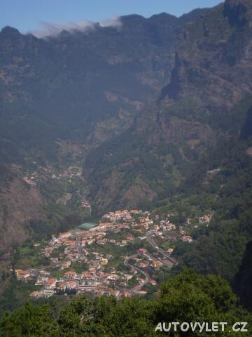 Vyhlídka Balcoes - ostrov Madeira
