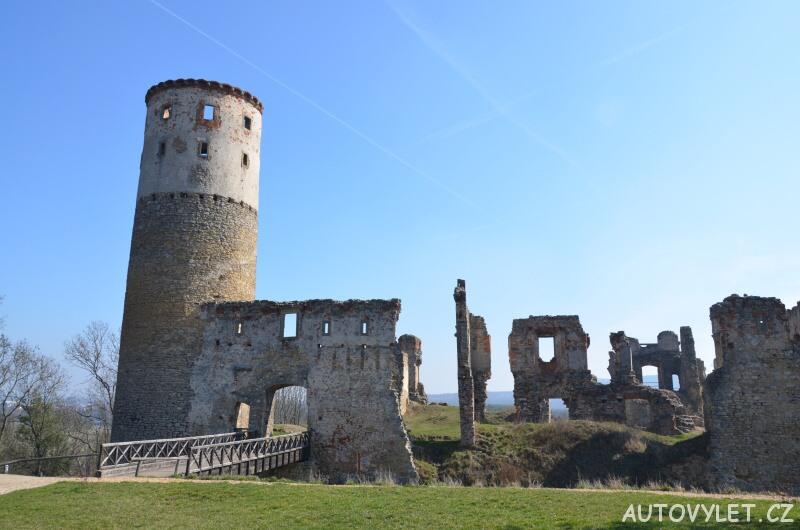 Vyhlídková věž zámku Zvířetice