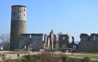 Vyhlídková věž zámku Zvířetice 2