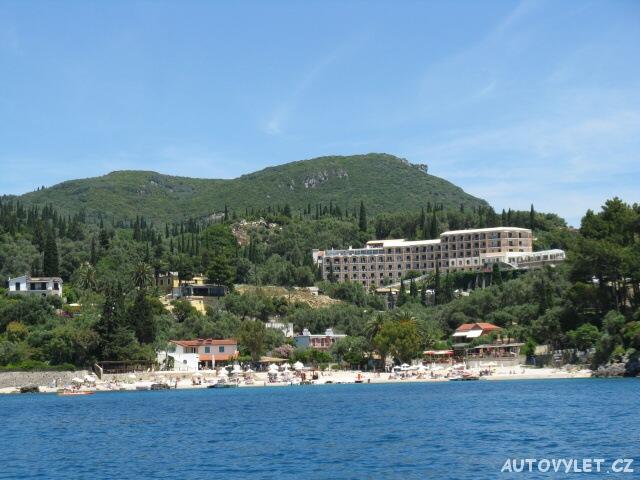 Výlet lodí - Paleokastritsa - Řecko Korfu