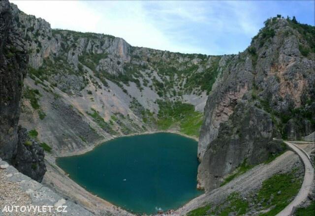 Chorvatsko modré jezero