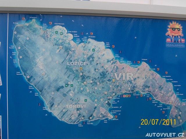 Chorvatsko ostrov Vir