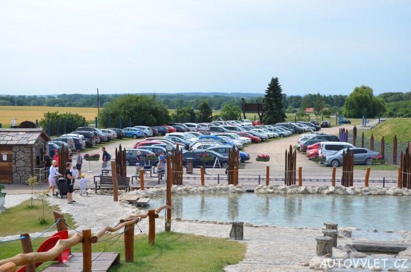 Parkoviště - Fajnpark Chlumec nad Cidlinou