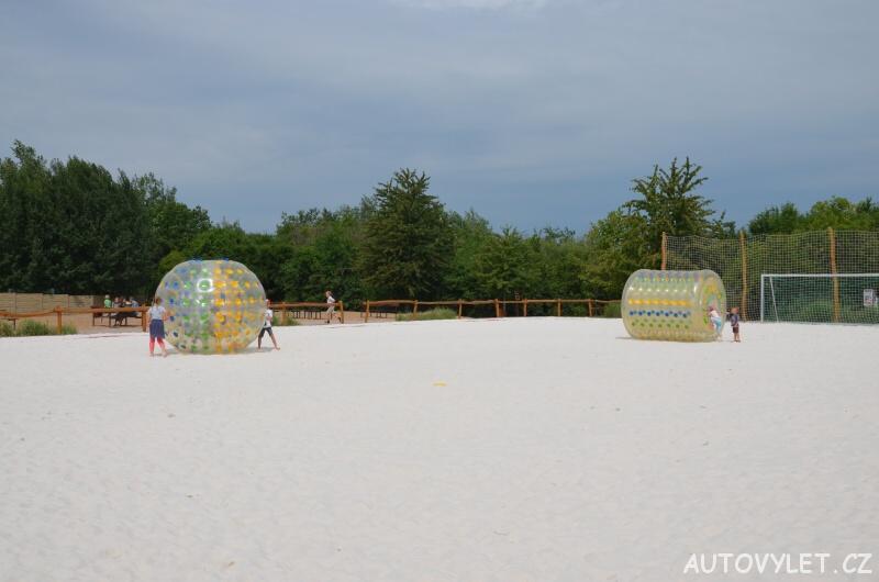 Zorbing - Fajnpark Chlumec nad Cidlinou