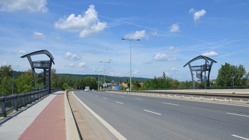 Lahovický most Praha - vyhlídkové věže
