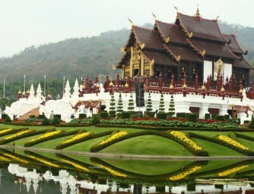 Město Chiang Mai je pravý cíl dovolené na severu Thajska